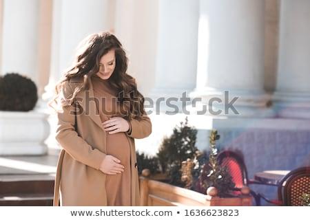 Retrato alegre rizado mujer 20s Foto stock © deandrobot