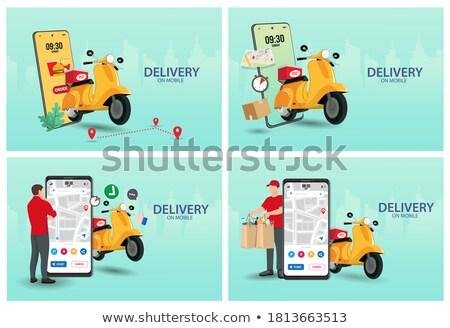 Digital marketing and advertising concept. Flat vector illustration. Stock photo © makyzz