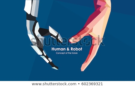 robotic machines and humans stock photo © solarseven