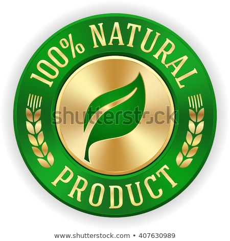 100 · naturales · logo · símbolo · transparente · hoja - foto stock © barbaliss