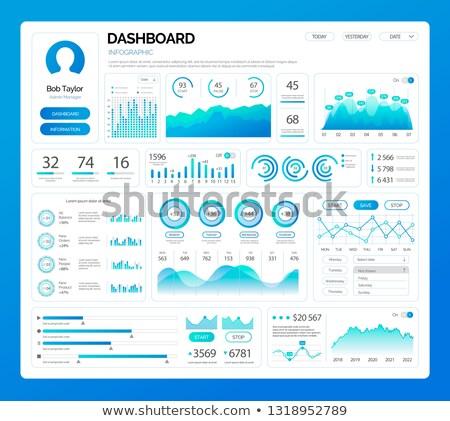 Statistics Information in Visual Representation Stock photo © robuart