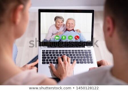 video · conferentie · shot · vrouw · internet - stockfoto © andreypopov