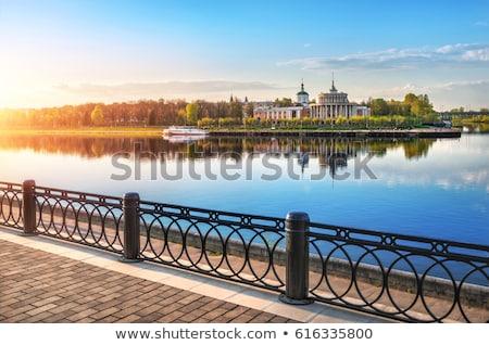 Folyó Oroszország tájkép régió víz természet Stock fotó © borisb17