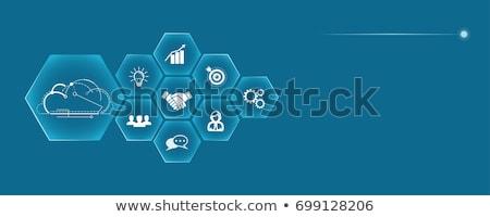 Enterprise architecture concept vector illustration Stock photo © RAStudio
