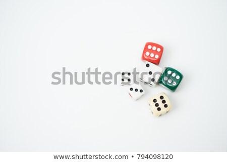 joueur · table · jeux · icône · vecteur - photo stock © mechanik