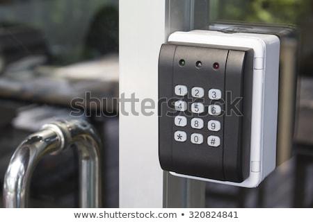 Key Safe On The Door Stock photo © AndreyPopov