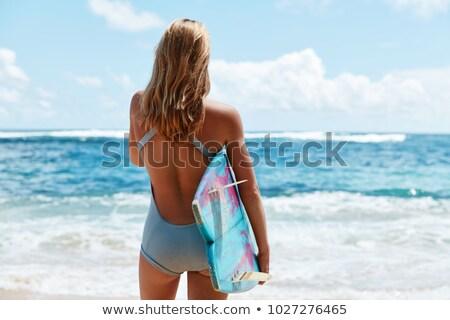 Tavola da surf giorno giovani Foto d'archivio © dash