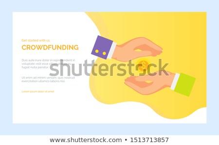 App trésorerie paiement vecteur banque investissement Photo stock © robuart