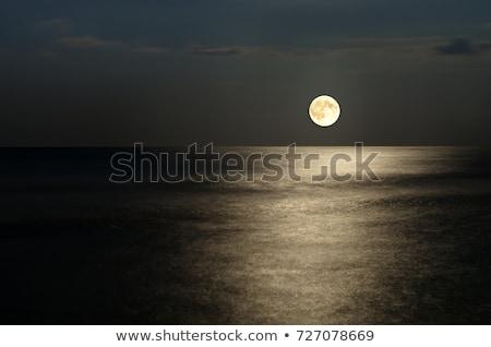 Ocean Moonrise Stock photo © Frankljr