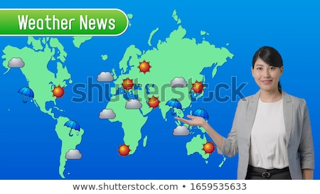 Weather Girl Stock photo © piedmontphoto