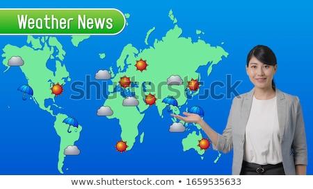 Weather Girl Stock photo © piedmontphoto
