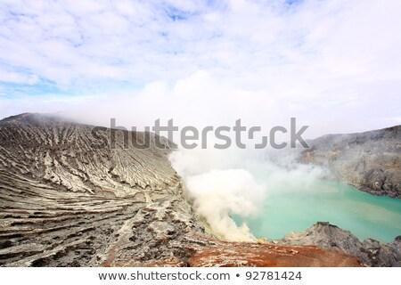 Ява · острове · Индонезия · кратер · вулкан · мои - Сток-фото © vichie81