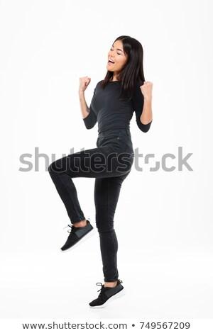 Amazed businesswoman Stock photo © photography33