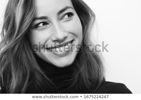 Gorgeous brunette spa girl. stock photo © lithian