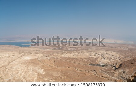 Deserto mar morto Israel natureza mar Foto stock © rglinsky77