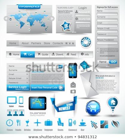 Premium templates and Web stuffs Stock photo © DavidArts