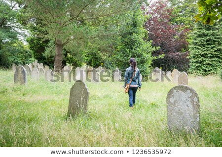 Cemetery stroll Stock photo © michelloiselle