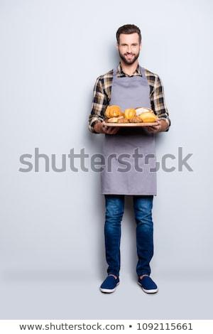 肖像 · ハンサム · 男性 · 調理 · 幸せ - ストックフォト © stockyimages
