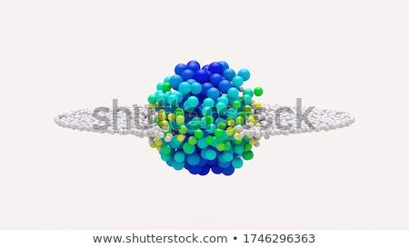 deeltje · transformatie · abstract · trillend · kleuren - stockfoto © prill