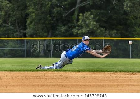 Teenage Baseball Player Stock photo © piedmontphoto