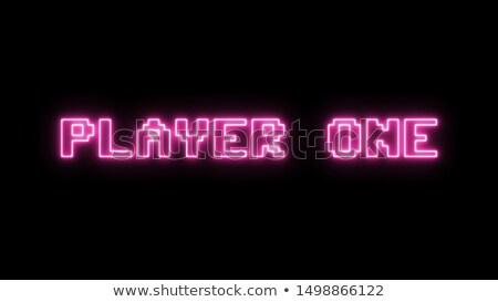 Prêt joueur une classique gamepad isolé Photo stock © HectorSnchz
