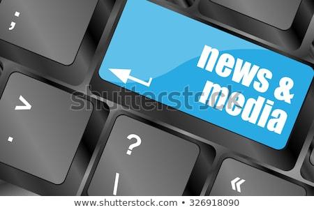 失業 · ニュース · セクション · ヘルプ · 労働 - ストックフォト © fotoscool