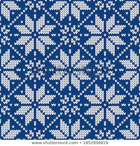 diamond xmas snowflake vector illustration stock photo © carodi
