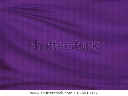 Mor spor tekstil doku Stok fotoğraf © grivet