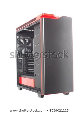abierto · ordenador · caso · hardware · manos - foto stock © shutswis