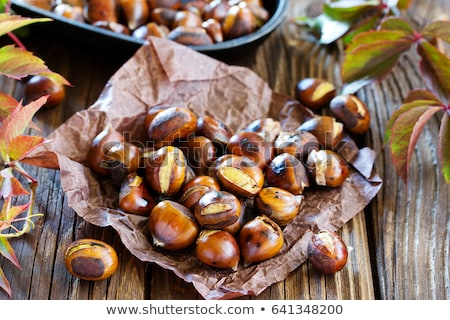 Roasted Chestnuts Stock photo © ozgur