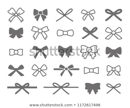 Icon bow Stock photo © zzve