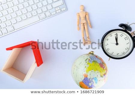 Globe on a keyboard Stock photo © almir1968
