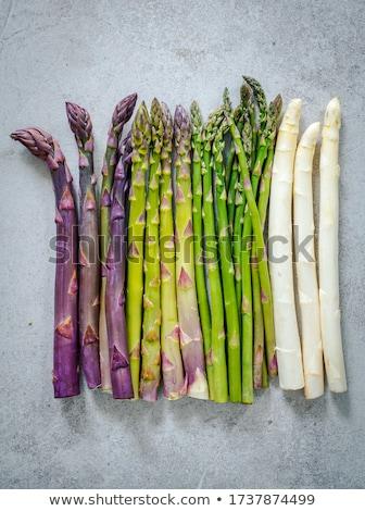 raw asparagus Stock photo © M-studio