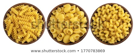 Pile of uncooked curly pasta noodles  Stock photo © tab62