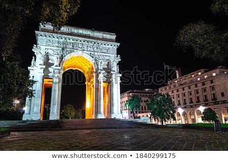 Olaszország győzelem tér ív diadal utca Stock fotó © Antonio-S