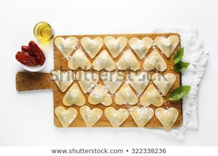 Romana cocina comida fondo blanco pequeño Foto stock © cynoclub