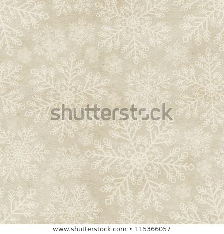 Naadloos vintage sneeuwvlok ontwerp abstract kleuren Stockfoto © illustrart