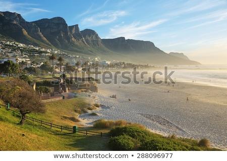 12 · 南アフリカ · ケープタウン · ビーチ · 空 · 日没 - ストックフォト © danienel