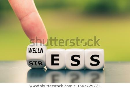 wellness stress Stock photo © burakowski