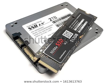 acelerar · sólido · conduzir · armazenamento · computador · segurança - foto stock © ifeelstock