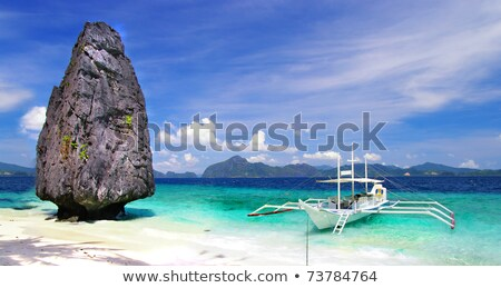 El Nido island shore Stock photo © smithore