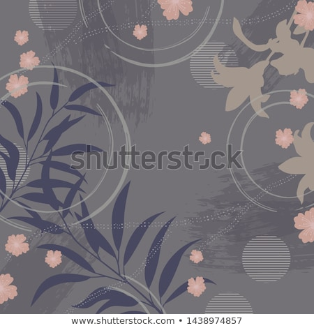 Beautiful retro woman on grey background Stock photo © Nejron