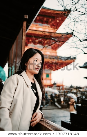 Stok fotoğraf: Orman · tapınak · kyoto · Japonya