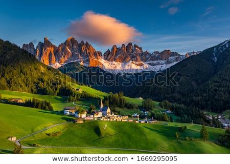 долины виноградник передний план Италия небе трава Сток-фото © Antonio-S