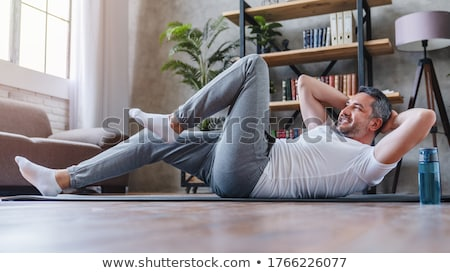 Abdominal exercises Stock photo © adrenalina