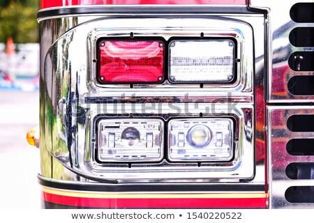 rescate · luces · alerta · vehículo · luz · seguridad - foto stock © aetb