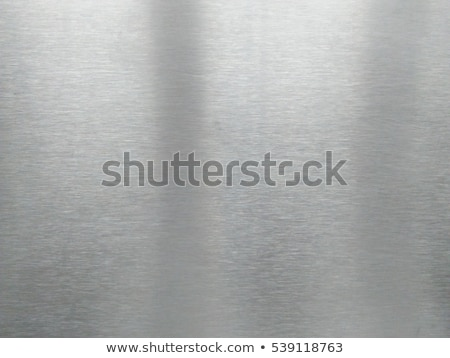 brushed silver plaque Stock photo © clearviewstock