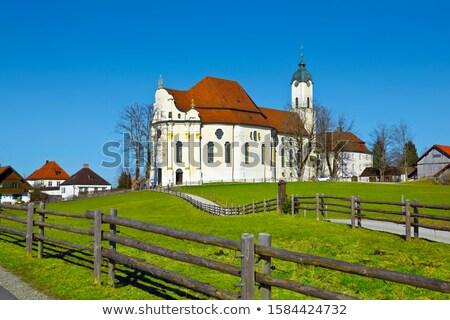 Wieskirche  Stock photo © LianeM