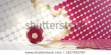 Stock photo: Soccer ball illustration