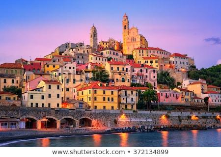 Sunrise in the Italian riviera stock photo © reemow